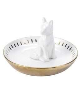 Floor 9 Gold Fox Jewelry Tray