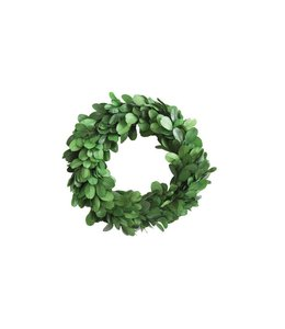 Creative Co-Op Boxwood Wreath 6""