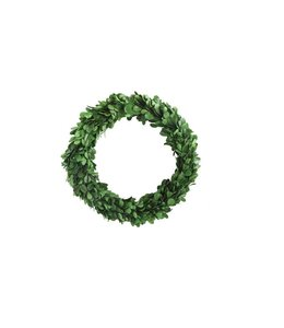Creative Co-Op Boxwood Wreath 10""