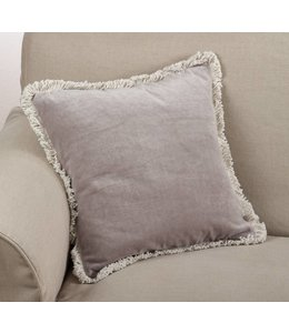 Fringed Pillow - Natural