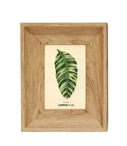 Creative Co-Op 4x6 Plastic Oak Frame