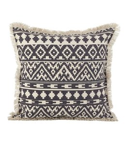 Fringed Aztec Pillow Square