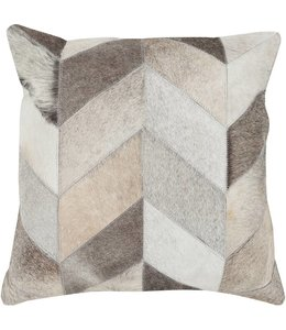 Chevron Pattern Hide Pillow 18in