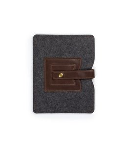 Cache iPad Sleeve - Saddle