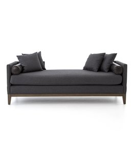 Mercury Double Chaise - Charcoal Felt