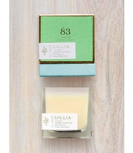 Running in Grass Barefoot Candle - No 83