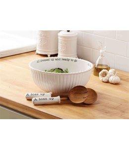 Mud Pie Circa Salad Bowl Set