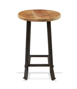 Mud Pie Have A Seat Stool