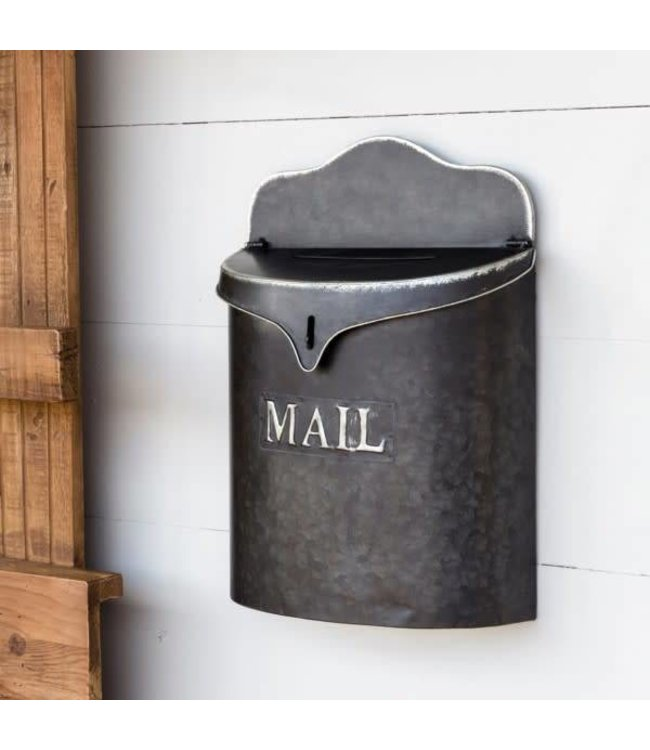 Park Hill Collections Metal Canister Mail Box