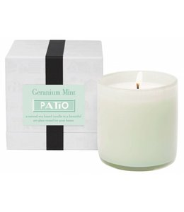 Geranium Mint / Patio Candle