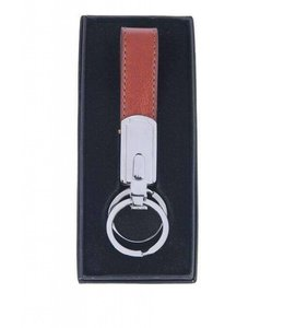 Leather Fob-Brown