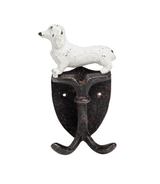Foreside Home & Garden Dog Double Wall Hook
