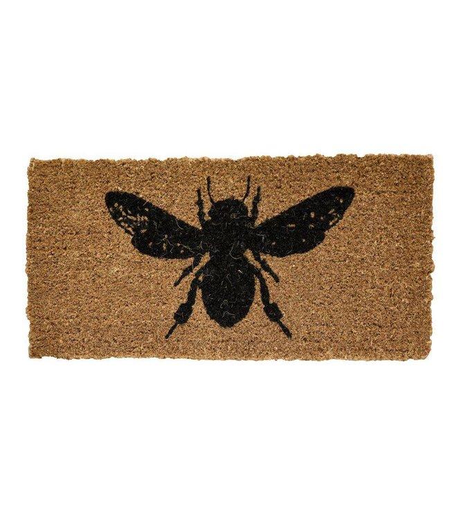 Creative Co-Op Natural Coir Bee Doormat - 32x16