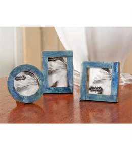 Mud Pie Small Blue Bone Frame
