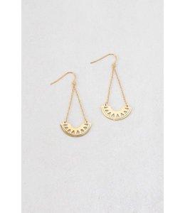 Lovoda Azteca Dangle Earrings (14K)