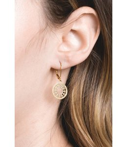 Lovoda One in a Million Filigree Earrings - Gold (18K)