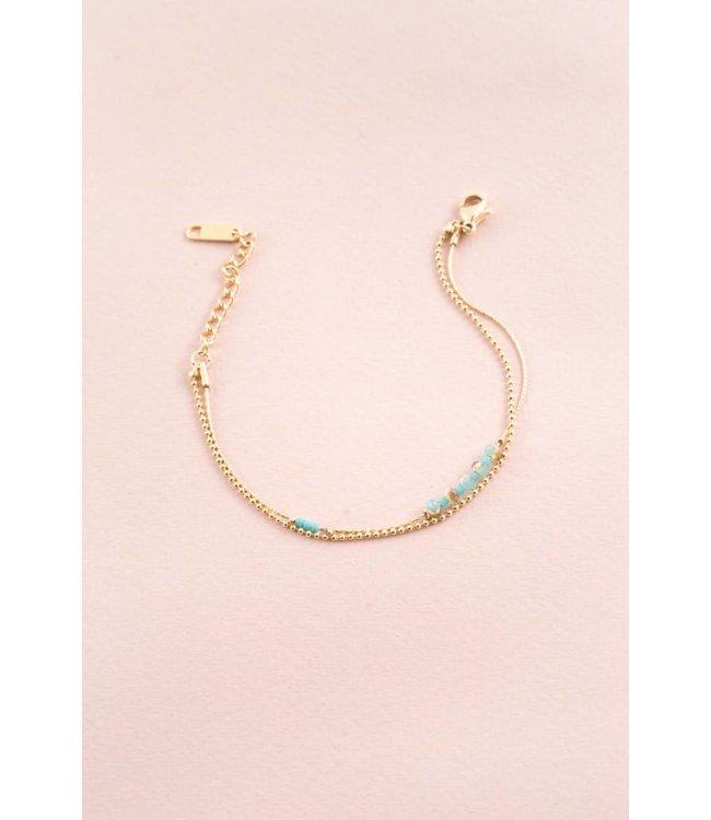 Lovoda Simple Life Bracelet (14K)