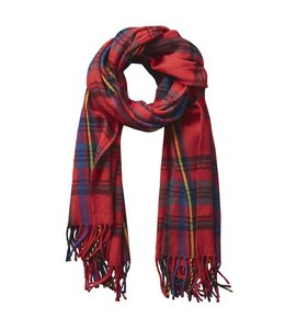 Classic Plaid Scarf Classic Red