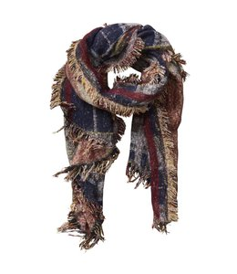 Heritage Plaid Scarf Wine