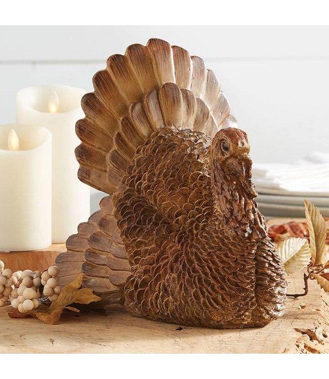 "Resin Turkey 10"""