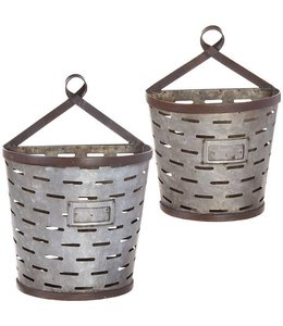 Metal Wall Bucket