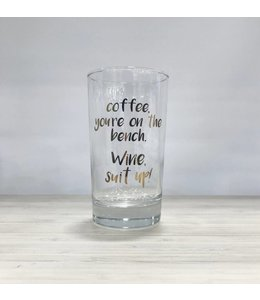 Stash Style Suit Up Wine Glass