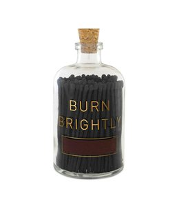 Skeem Burn Brightly Match Bottle Black