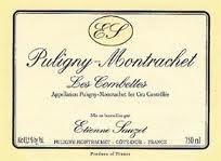 Wine SAUZET PULIGNY MONTRACHET 'LES COMBETTES' 1992 damaged label