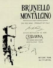 Wine Cerbaiona Brunello Di Montalcino 1995