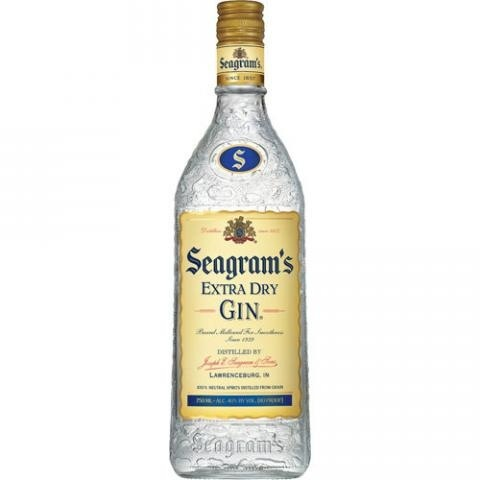 Spirits Seagrams 'Extra Dry' Gin