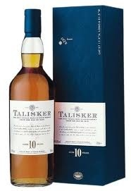 Spirits TALISKER 10 YEAR ISLE OF SKYE SCOTCH