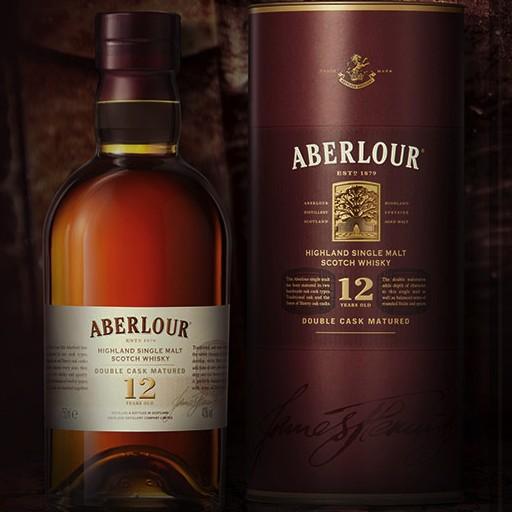Spirits Aberlour Highland Single Malt Scotch 12 Year Double Cask Matured