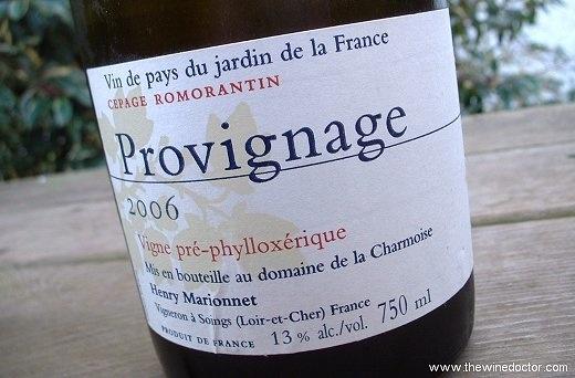 Wine Henry Marionnet 'Provignage' Romorantin 2012