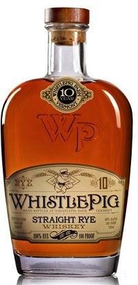 Spirits Whistle Pig Straight Rye Whiskey 10 Year 100 Proof