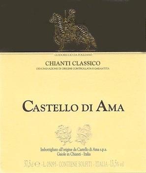 Wine Castello di Ama 'La Casuccia' Chianti Classico 1995