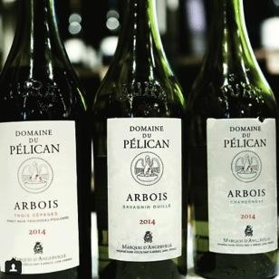 Wine Domaine du Pelican Cuvee Trois Cepages 2014
