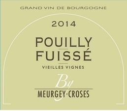Wine Meurgey Croses Pouilly Fuisse Vieilles Vignes 2014