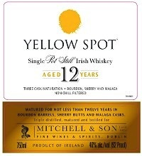 Spirits Yellow Spot Single Pot Still Irish Whiskey 12 Year