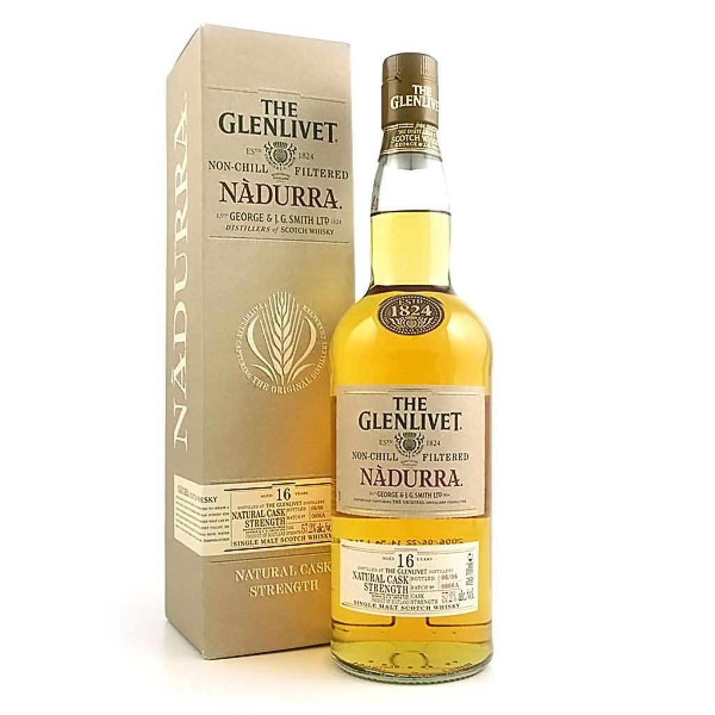 Spirits The Glenlivet Scotch Single Malt 16 Year Nadurra Cask Strength