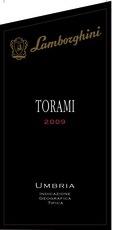 Wine Lamborghini, Torami Umbria 2011