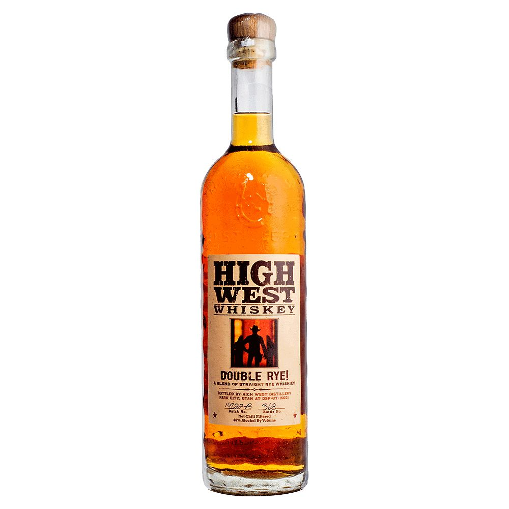 Spirits High West Double Rye Whiskey