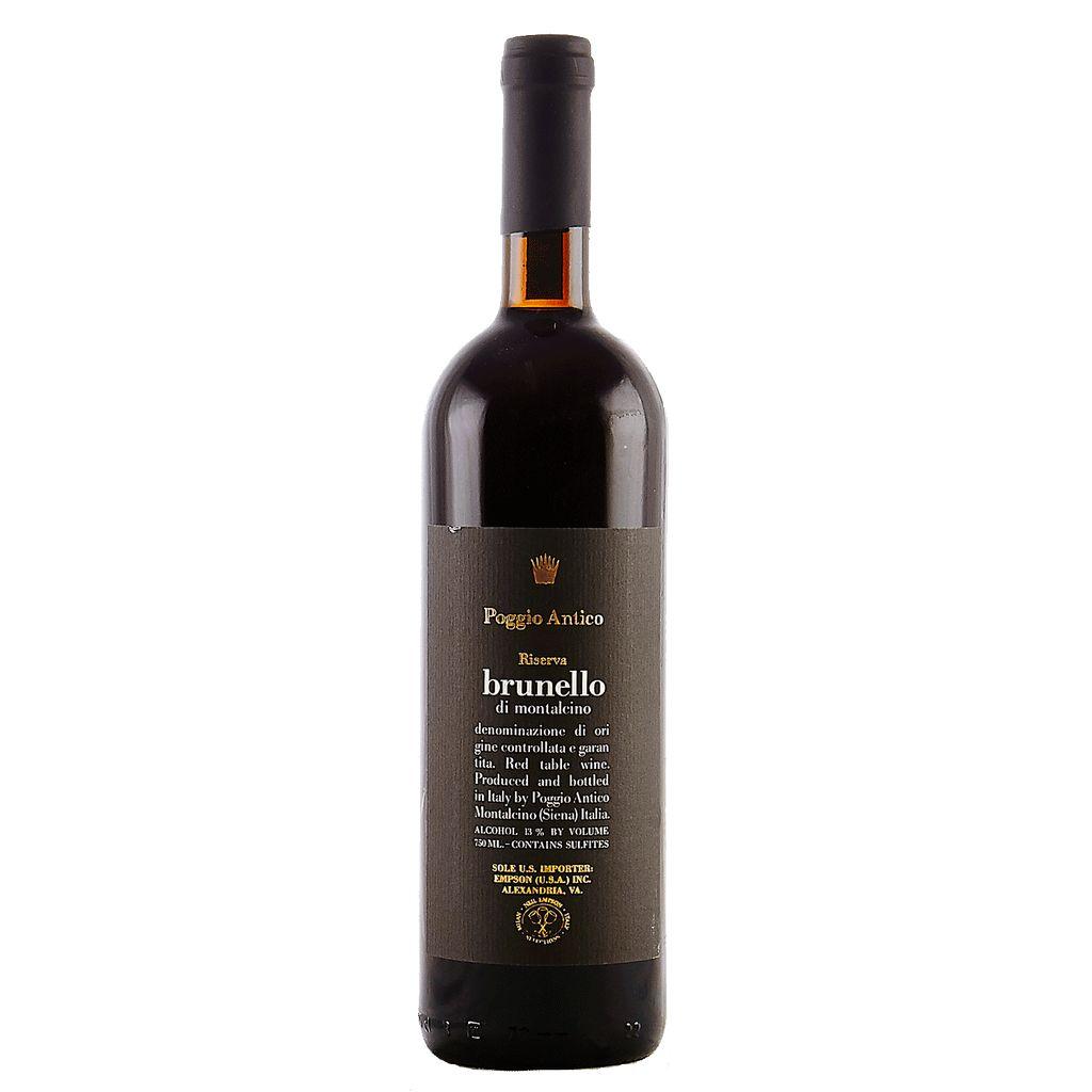 Wine Poggio Antico Brunello di Montalcino Riserva 2010