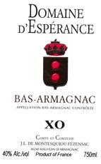 Spirits Esperance XO Bas-Armagnac