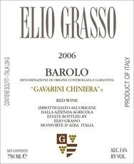 Wine Elio Grasso Barolo Gavarini Vigna Chinera 2012