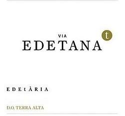 Wine Edetaria Via Edetana Terra Alta Blanco Garnaxta Blanca 2015