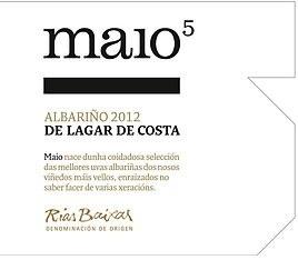 Wine Lagar de Costa Rias Baixas Albarino Maio Vinedos Vellos 2012