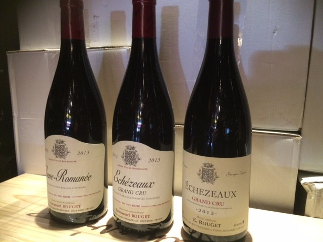Wine E Rouget/ Georges Jayer Echezeaux Grand Cru 2013