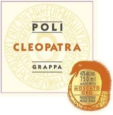 Spirits Poli Cleopatra Moscato Oro Grappa