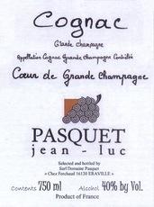 Spirits Pasquet Cognac Coeur de Grande Champagne 5-10 Years Old