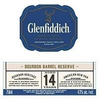 Spirits Glenfiddich Single Malt Scotch Whisky 14 Year Bourbon Barrel Reserve